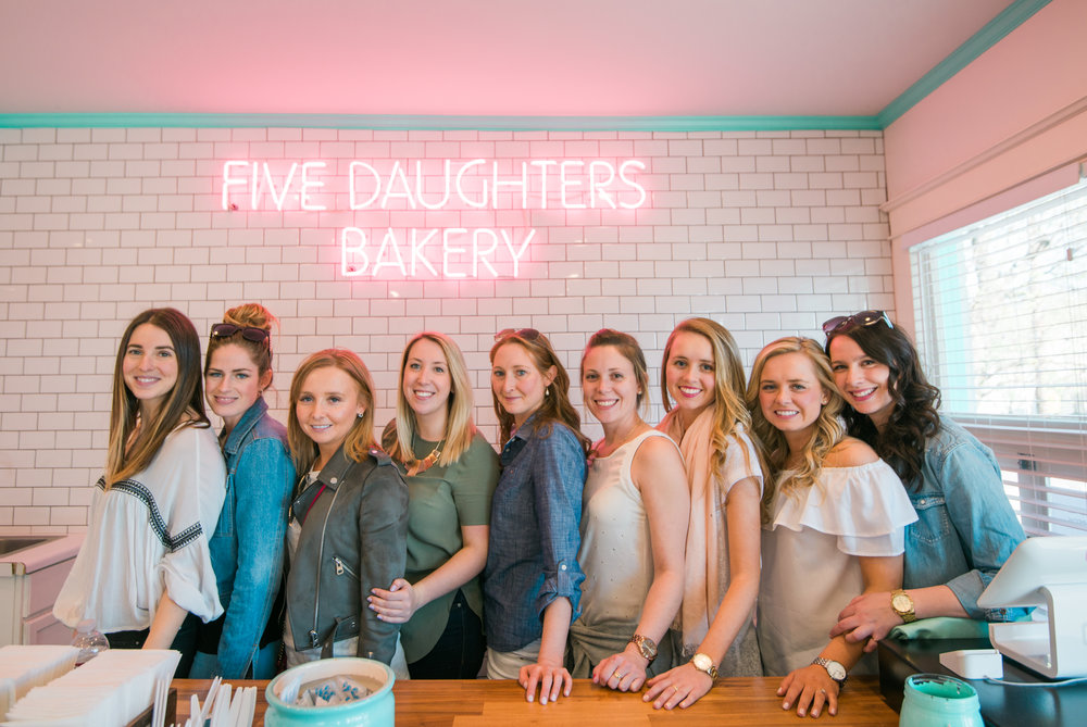 Five Daughters Bakery in the 12South neighborhood was a delicious stop for donuts!