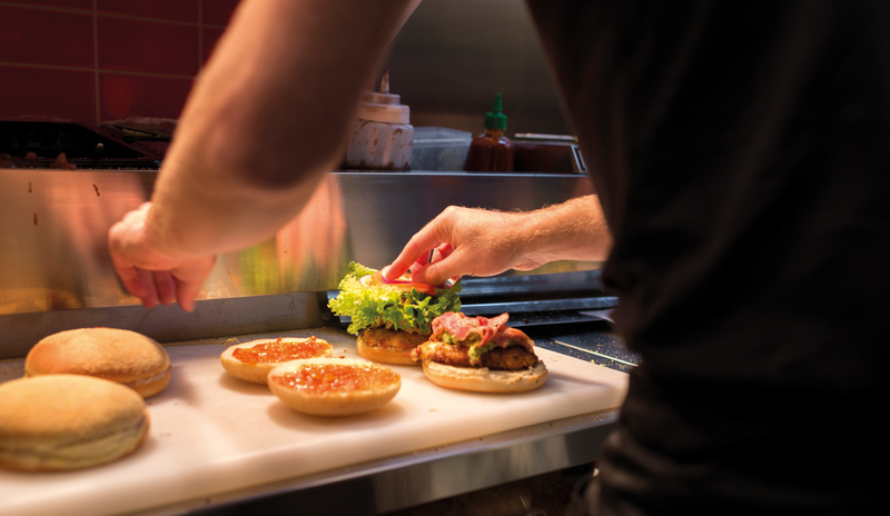 Everything at Burger Wisconsin is crafted: real ingredients, carefully chosen and hand-made