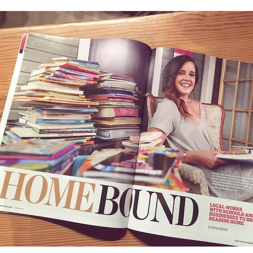 Chatter Magazine - Chattanoogan works with schools and businesses to bring reading home.