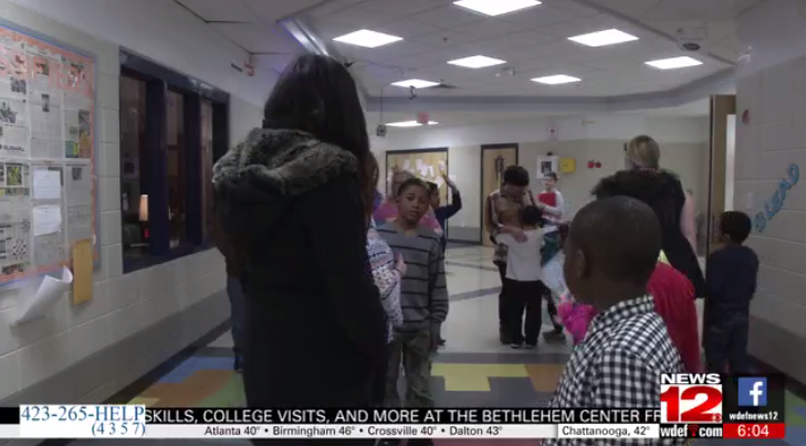 News Channel 12 - Chattanooga non-profit gives books to children in need.