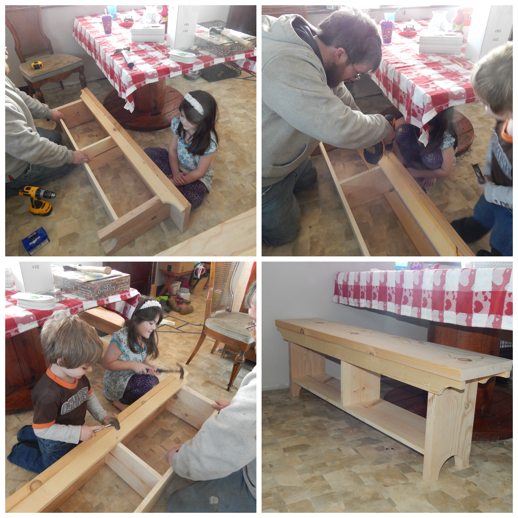 DIY Bench Face Board