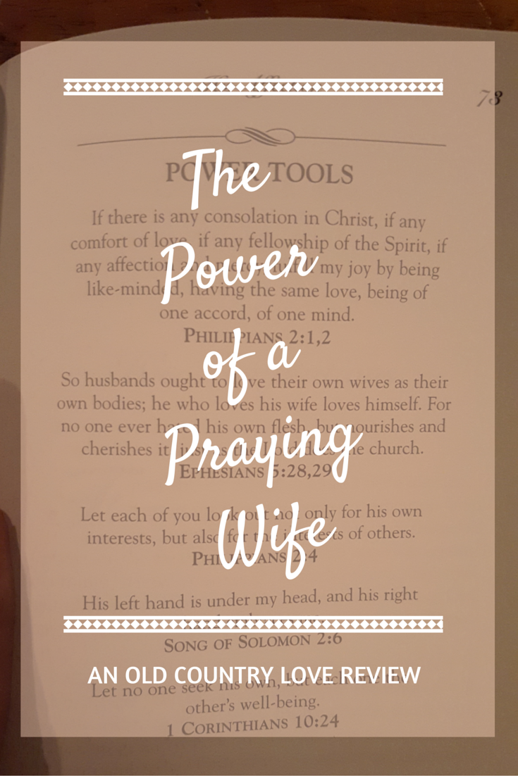 The Power of Praying Wife Pin