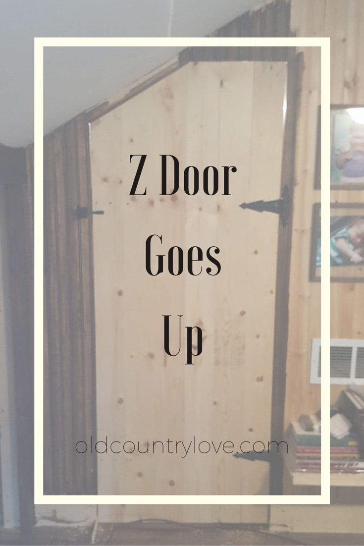 A fabulously easy barn style z door!