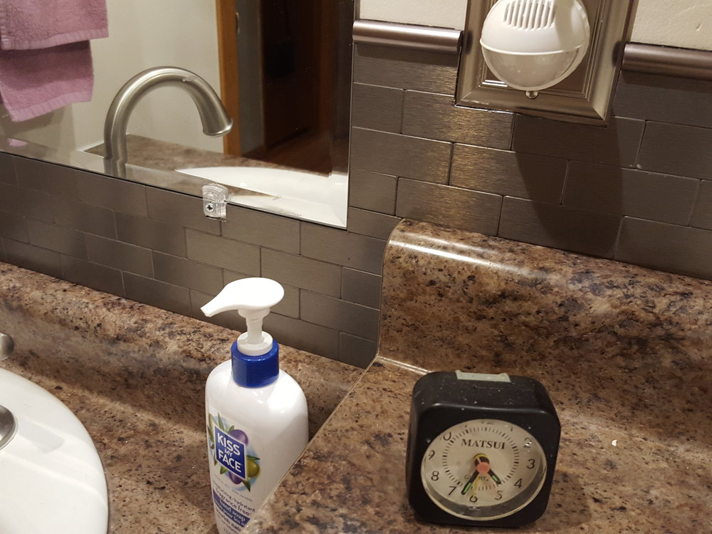 Can you find the one piece that isn't the same in this handicap bathroom remodel?