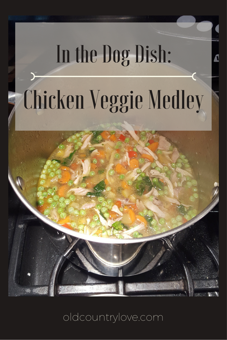 Pin Me! Chicken Veggie Medley