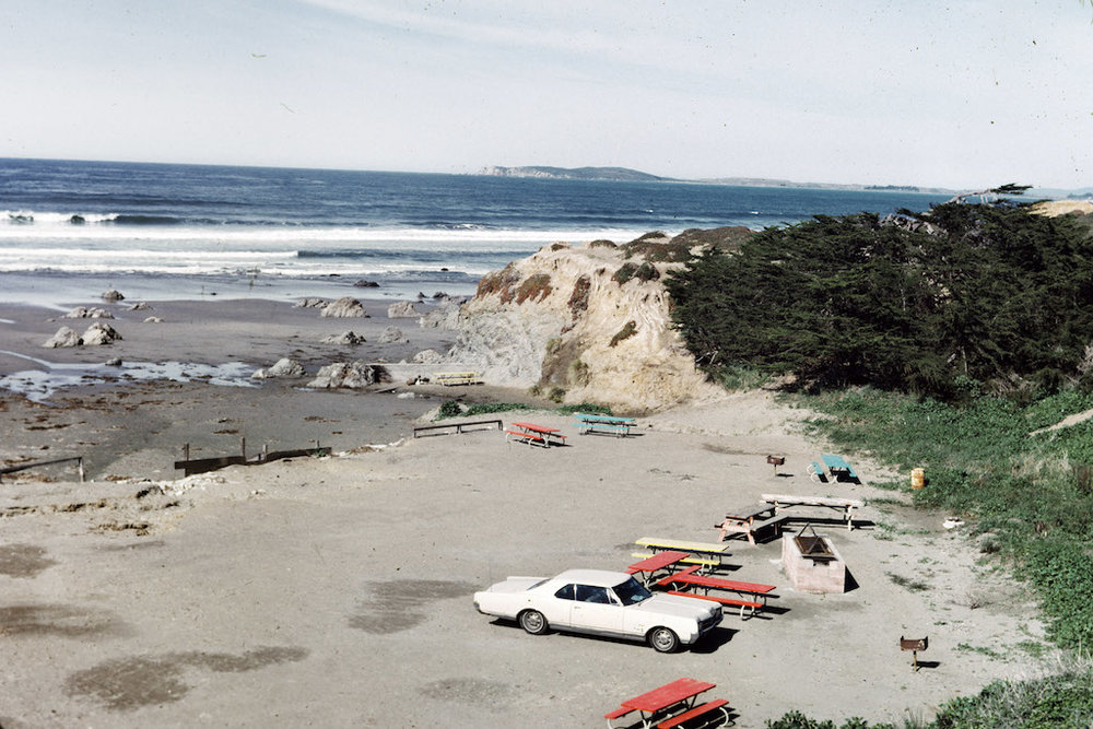 Plage, Dillon, février 1971 © J. B. Jackson Pictorial Material Collection, University of New Mexico Librairies