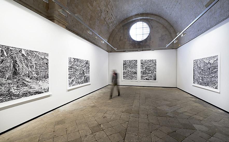 Eric Bourret - Abbaye Montmajour / Arles - 2014