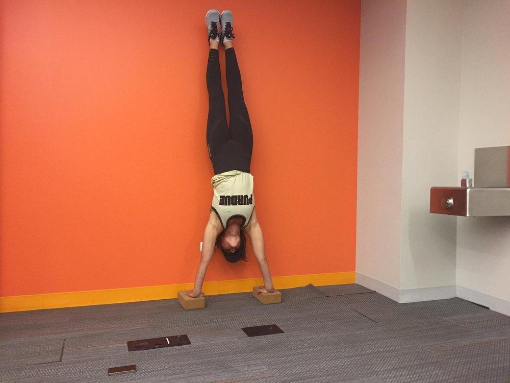Handstand PU Start