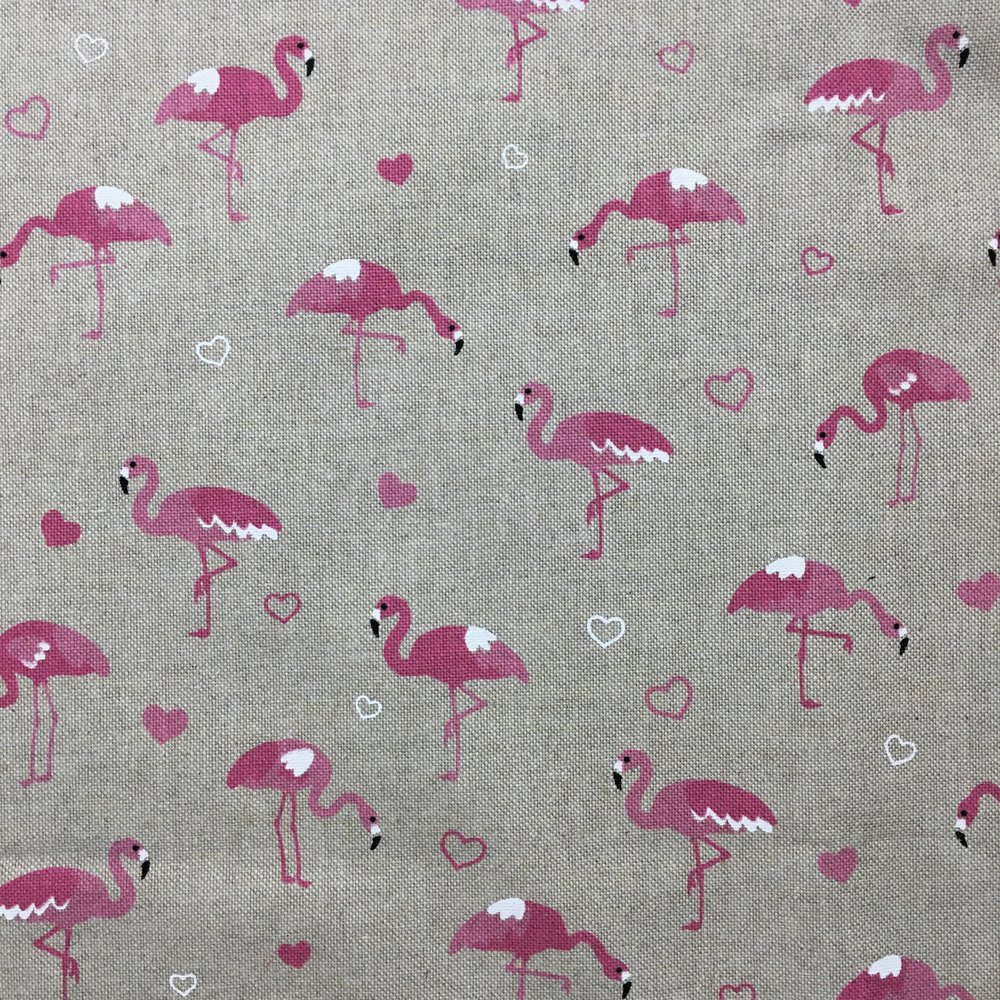 FAB FLAMINGOS CANVAS