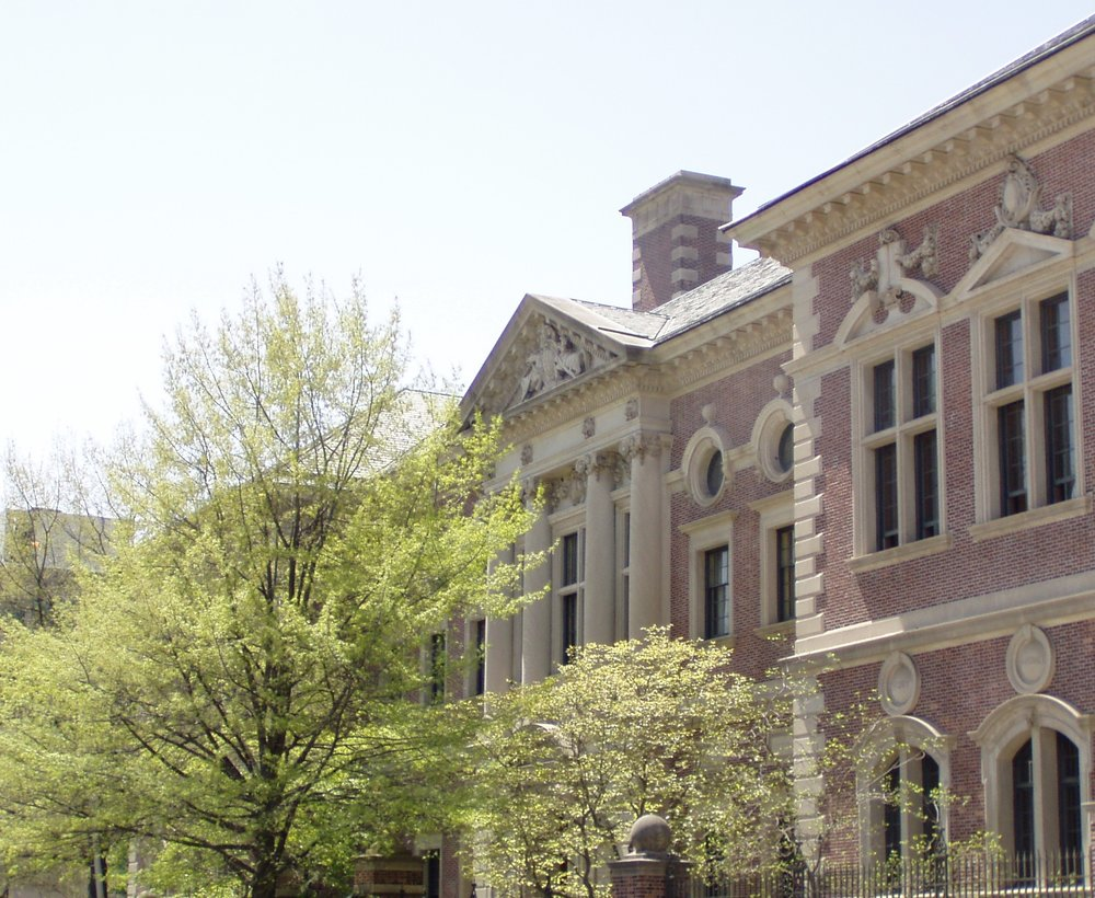 Credit: JVinocur, Wikimedia Commons, CC BY-SA 3.0, available at https://commons.wikimedia.org/wiki/File:University_of_Pennsylvania_Law_School-angled.JPG