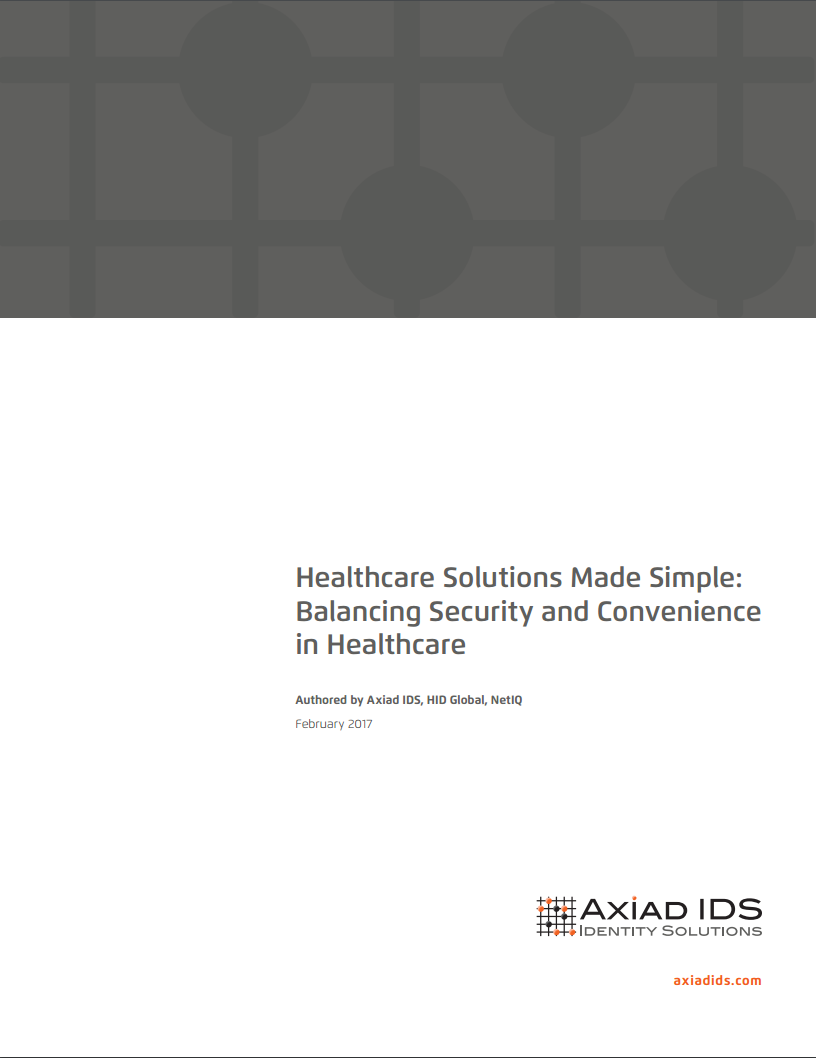 Axiad IDS Healthcare Whitepaper