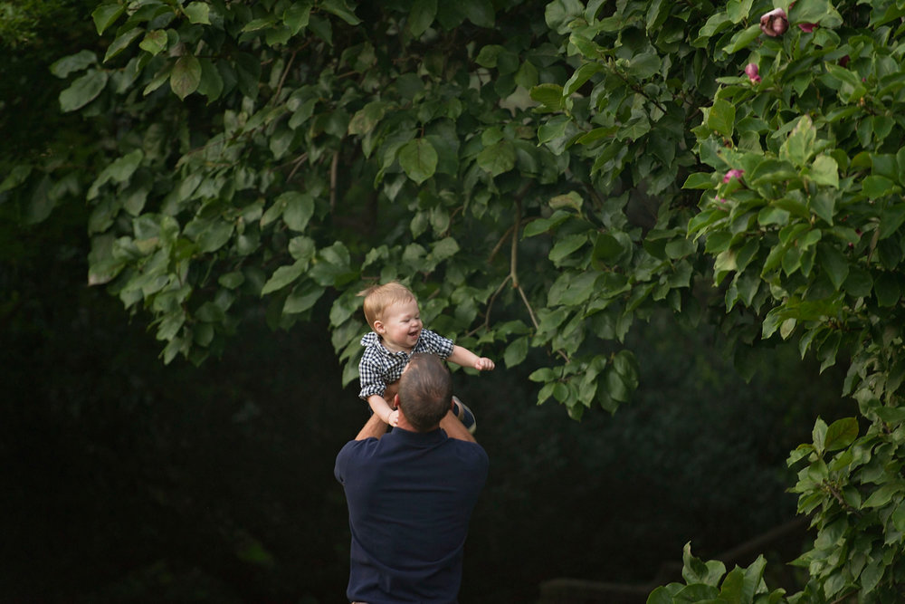 Morris Arboretum Family Session
