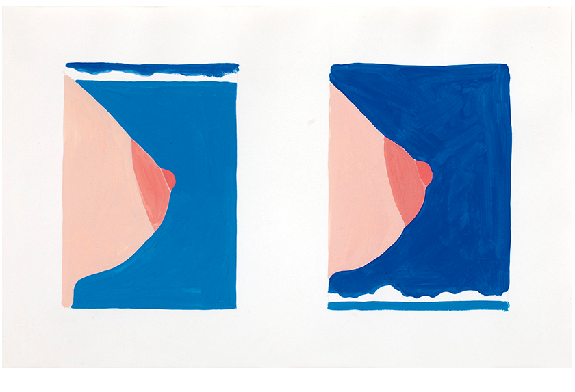 Double Study for Seascape #16, 1966