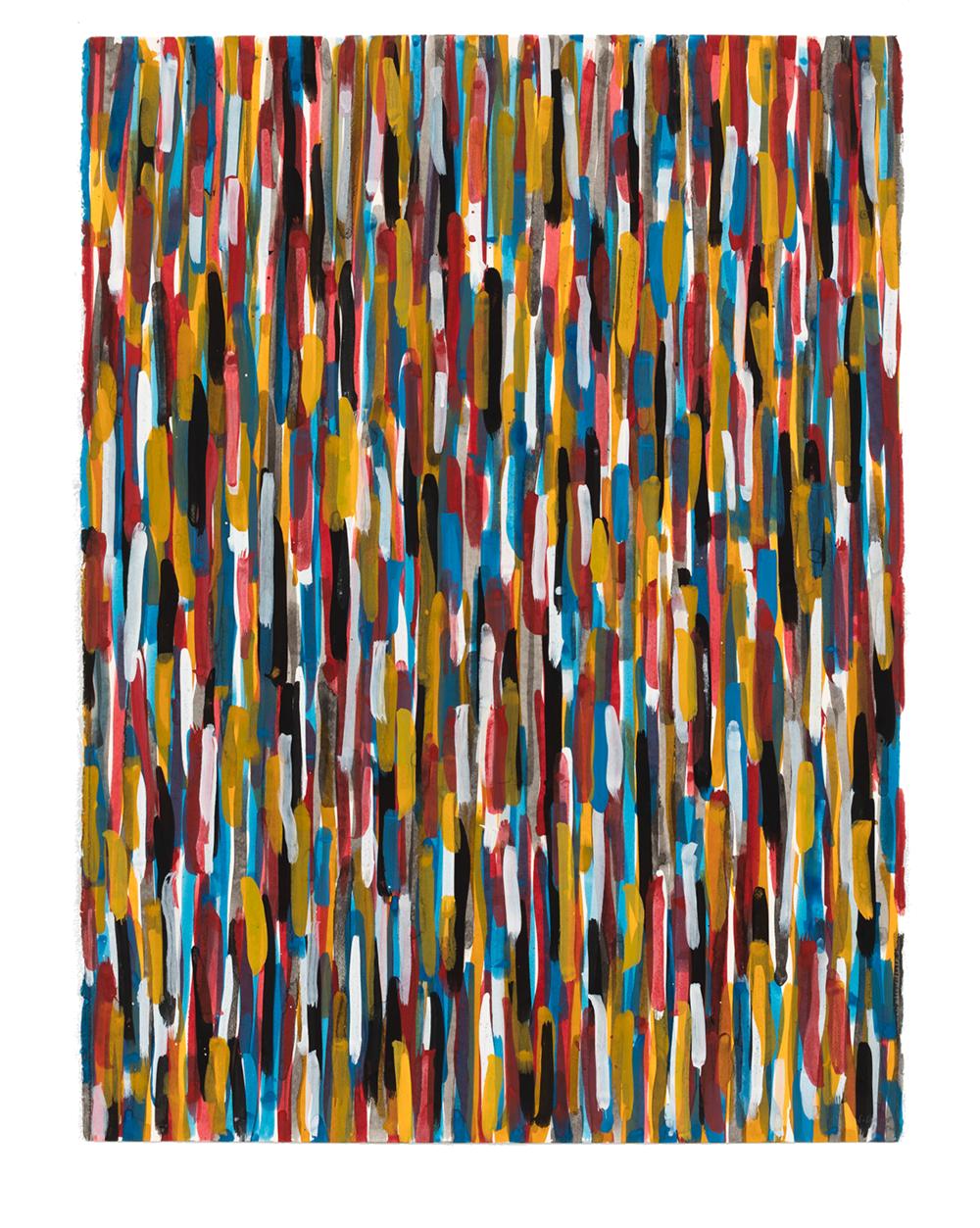 Short Vertical Brushstrokes, 1994