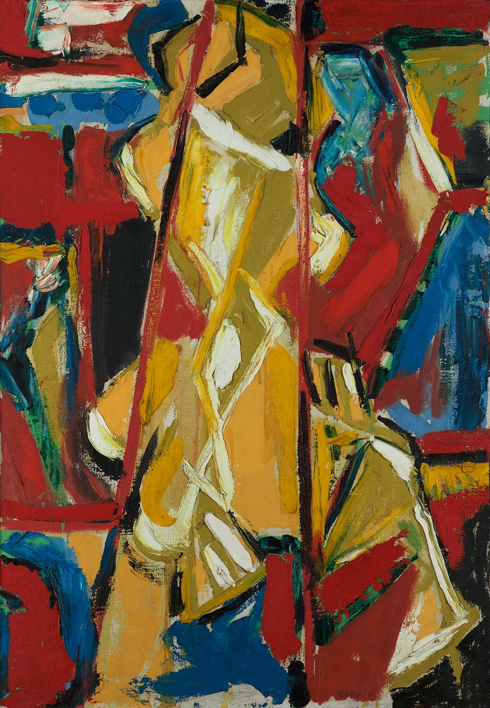Yellow Figure, 1953