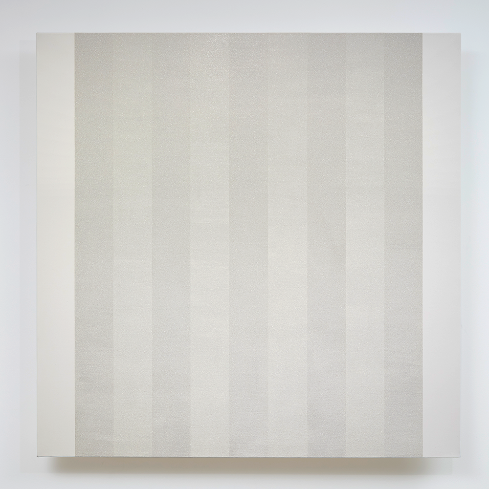 Untitled (White inner Band, Beveled), 2012