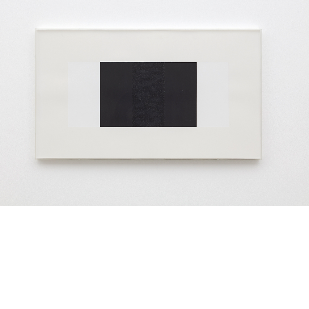 Untitled (White, Black, Black), 2001