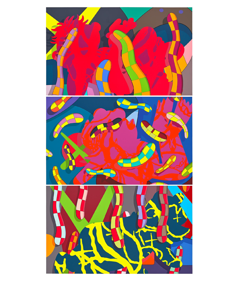 Portfolio of three silkscreens, 2018