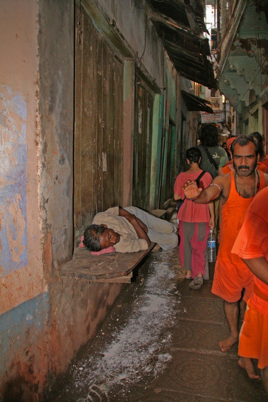 Dormiente Varanasi India 2010 446.jpg