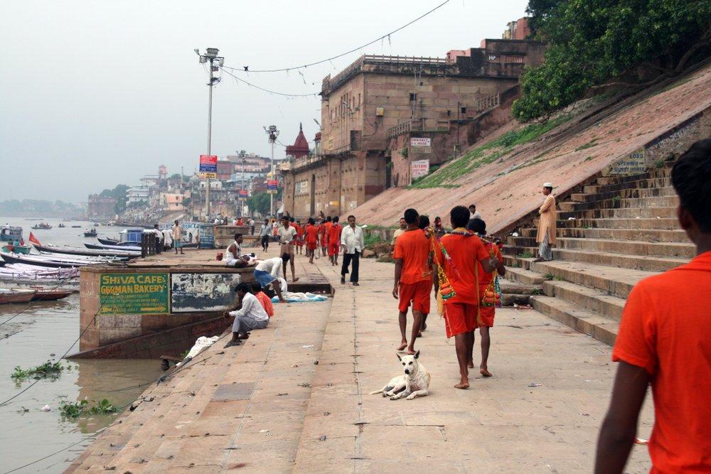 Ragazzi a Varanasi India 2010 425.jpg