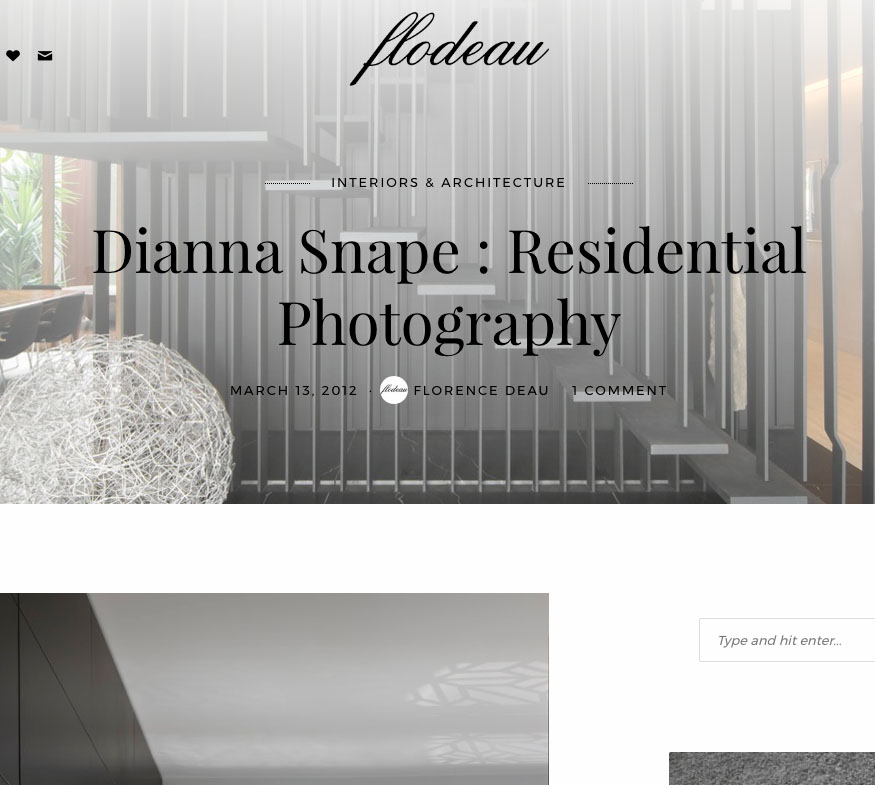 Flodeau - Dianna Snape - Residential Photography
