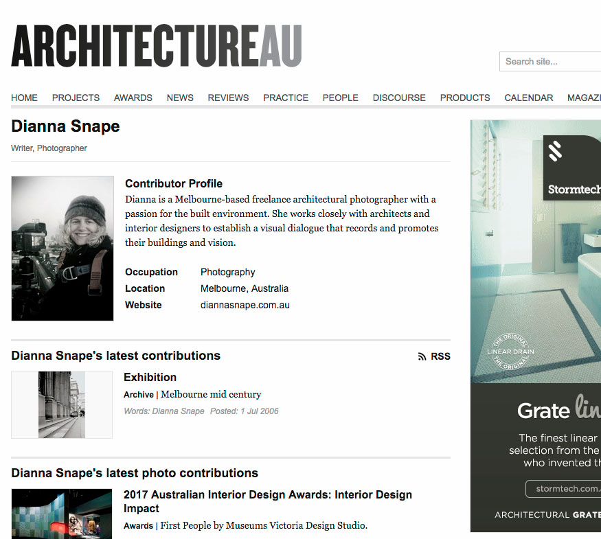 Architecture AU - Architecture AU is a dynamic website providing extensive coverage of the news of the day, exclusive commentary from leading writers, practitioners, academics and critics, and an ever-expanding archive of realized work.