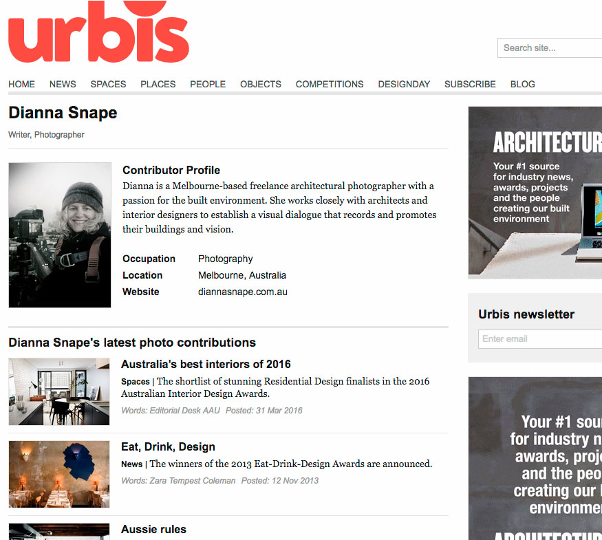 Urbis - Urbis is New Zealand's pre-eminent interiors magazine. Urbis features stylish interiors and objects, fascinating places, interesting people, technology updates and car reviews in large format.