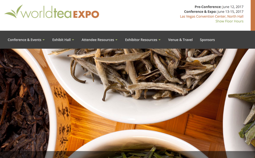 Tea Expo? - You didn't even know we needed one, right?