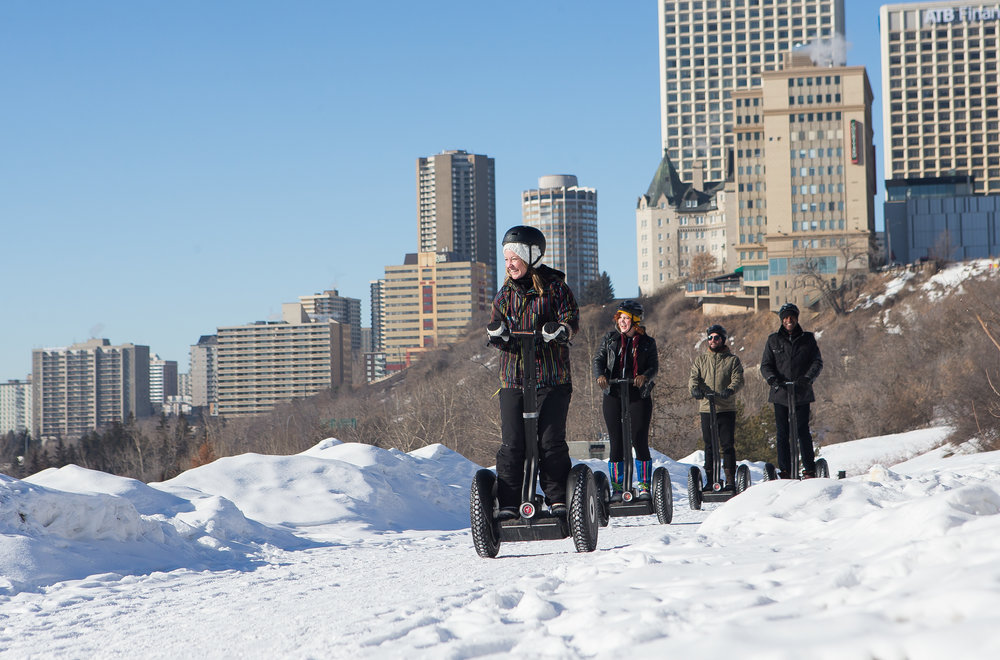 Winter Segway Trekking