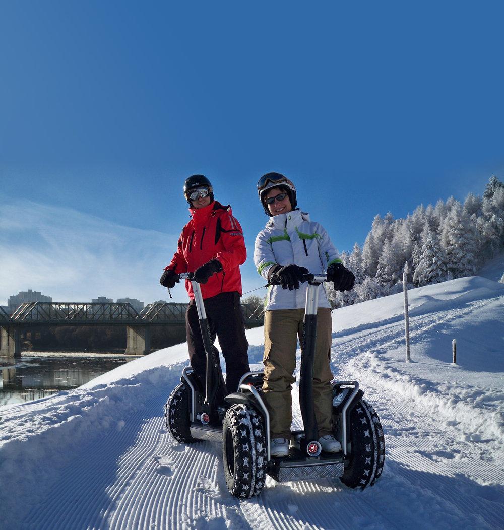 Winter Segway Trekking