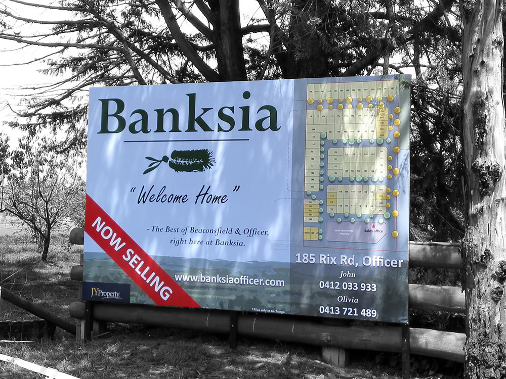 Banksia Estate, Officer.