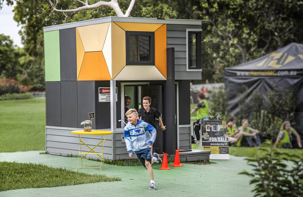 DUPLAY - Cubby House Challenge - 'Kids Under Cover'