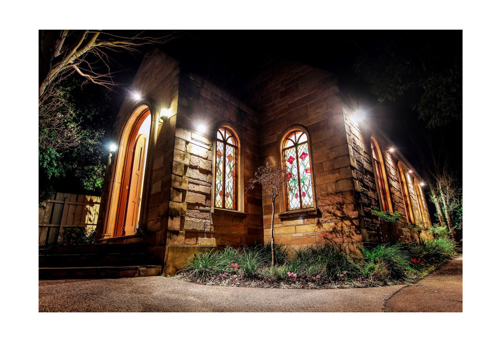 Sandstone Chapel - Elizabethan Lodge, Box Hill.