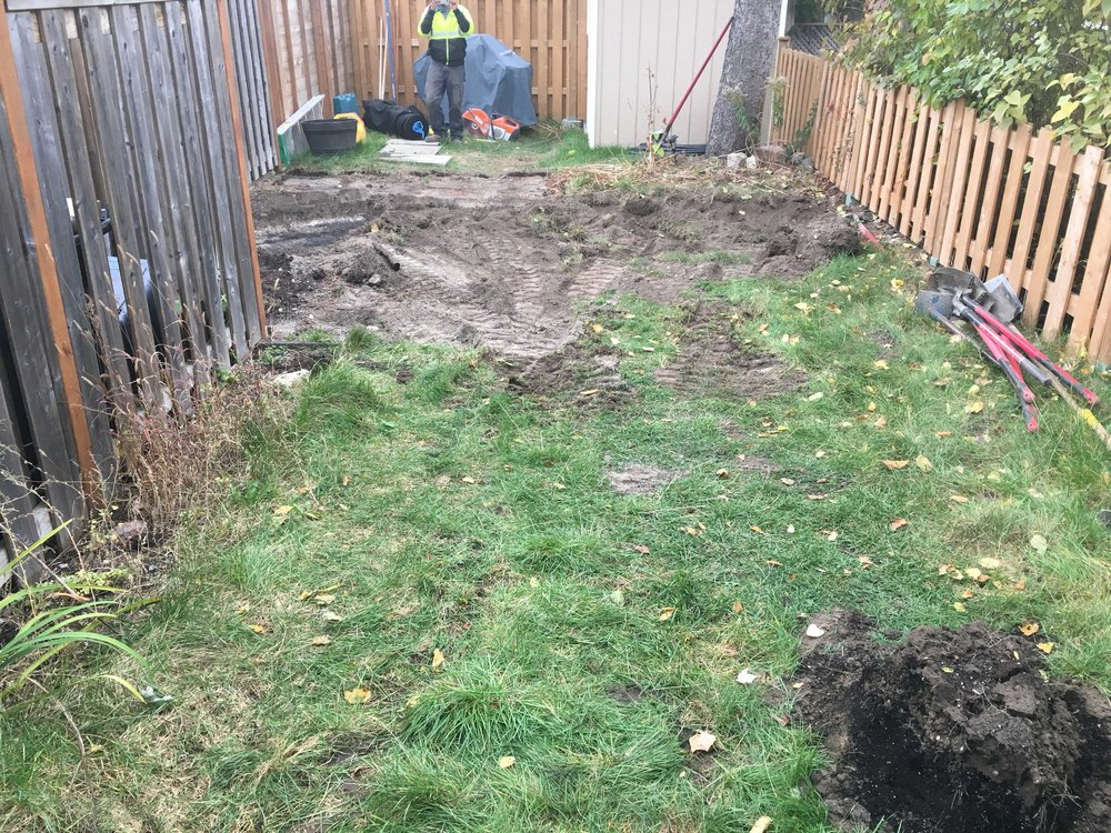 permacon landscape - before