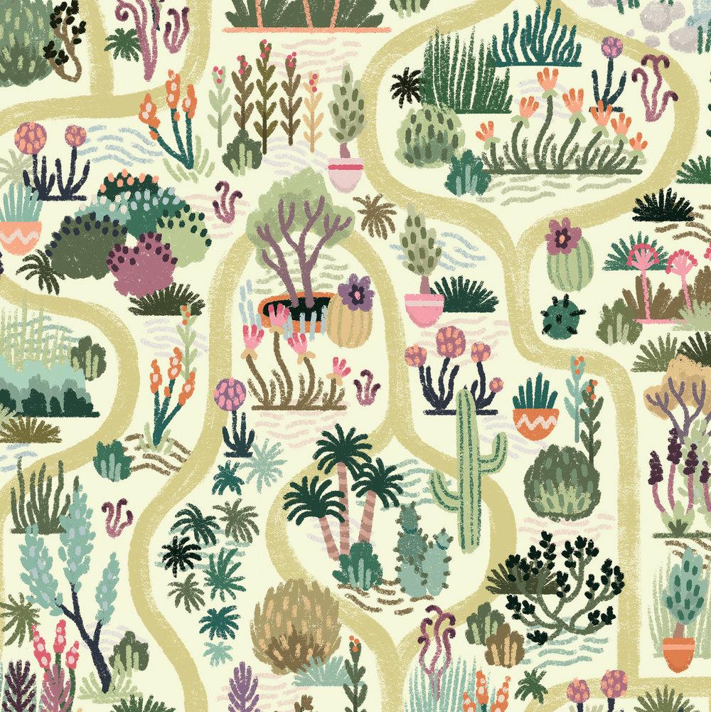 Allie Doersch Botanical Garden Pattern