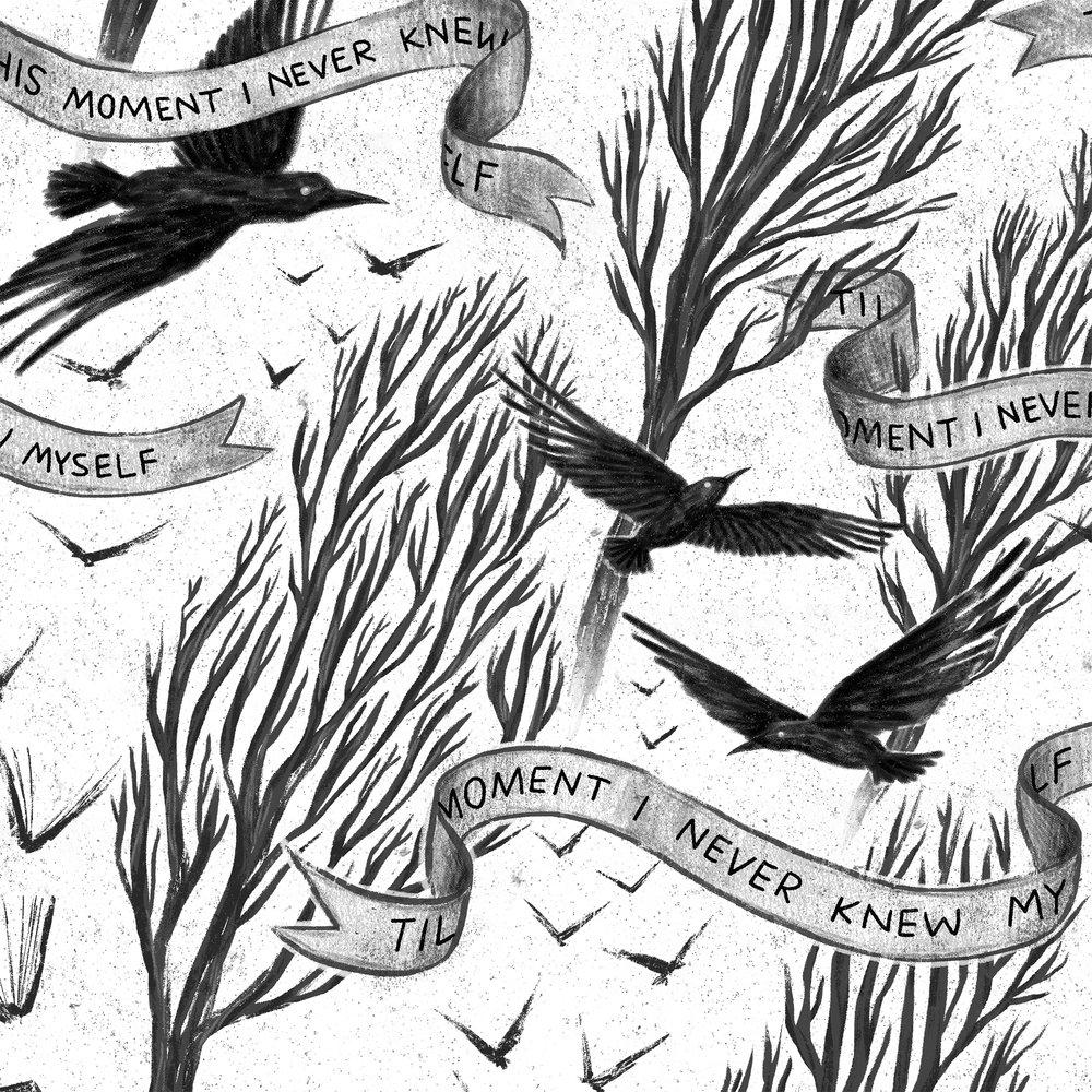 Allie Doersch Edgar Allan Poe Pattern