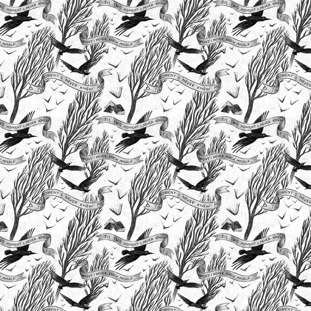 Allie Doersch Edgar Allan Poe Pattern Repeat