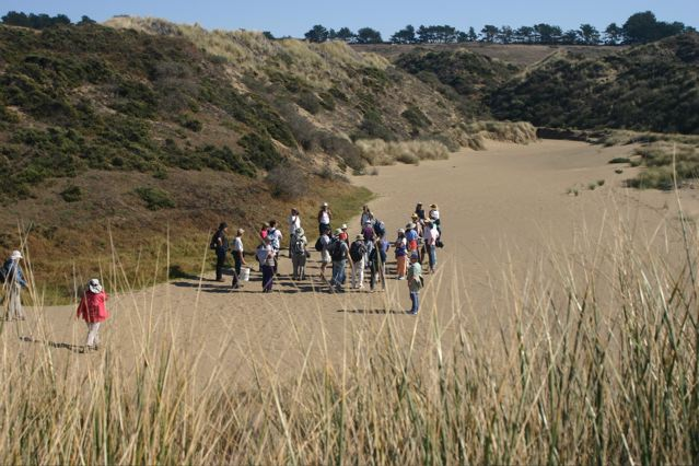 EAC tour of the Tomales Dunes