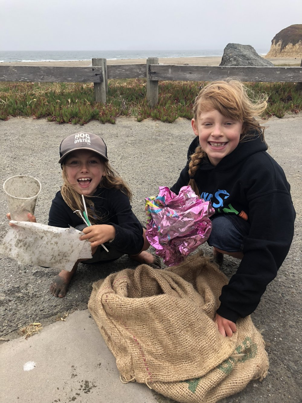 July 13, 2018 Drakes Beach Clean Up