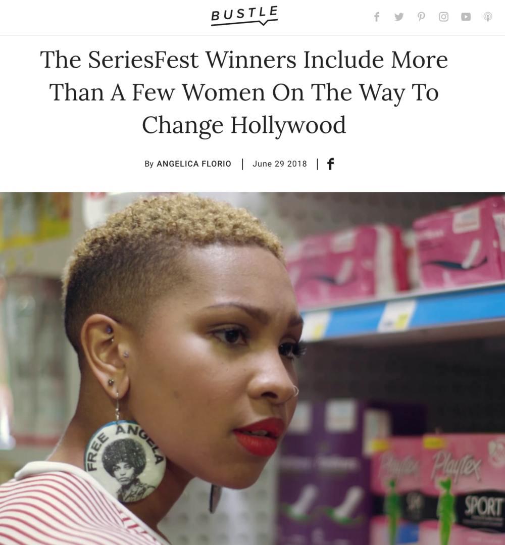 Bustle Media Group - The SeriesFest Winners include more than a few women on the way to change Hollywood