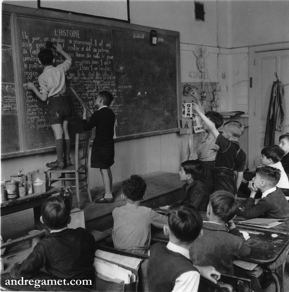 La classe de Monsieur Berger