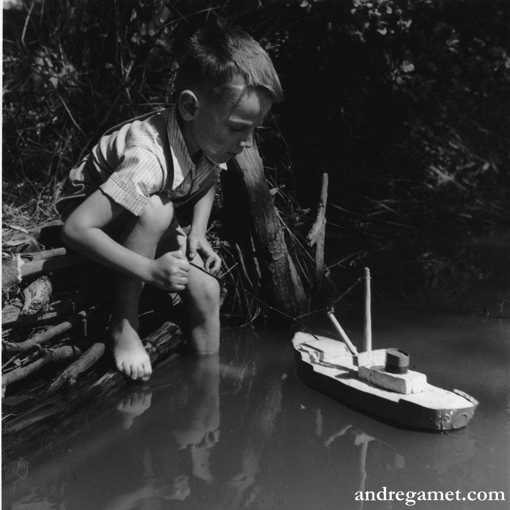 Navigation en étang