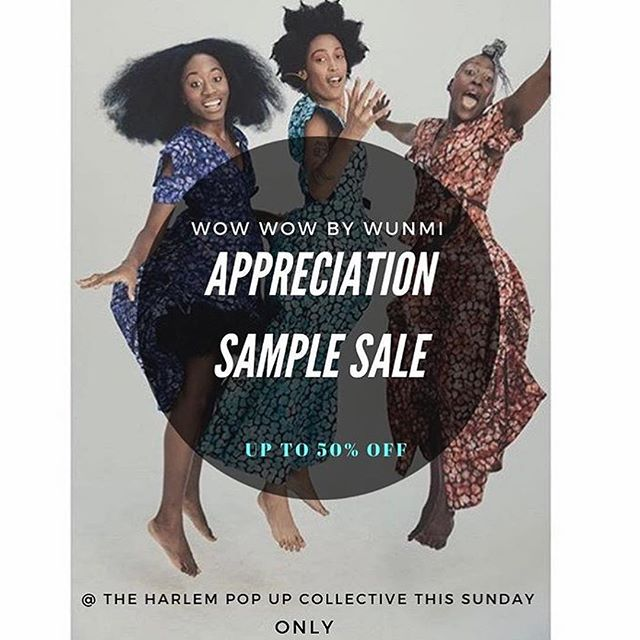Wow Wow Sample Sale Ends today !!⁣⁣⁣ ⁣⁣⁣ Combat the weather with some shopping therapy ⁣⁣⁣ ⁣⁣⁣ Up to 50% off Sample Sale ⁣⁣⁣ New Season Collection  Tons on Men's Must-haves ⁣⁣⁣ ⁣⁣⁣ ENDS TODAY ⁣⁣⁣ @Silvana in Harlem ⁣⁣⁣ 300 W 116th street