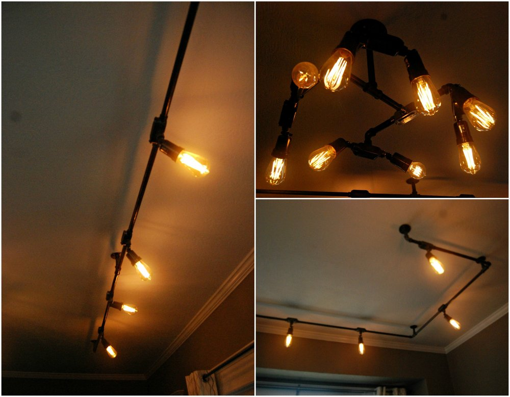 Lighting fixtures around our front desk area.