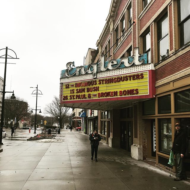 Honored and stoked to support @sambushband at the @englerttheatre tonight!
