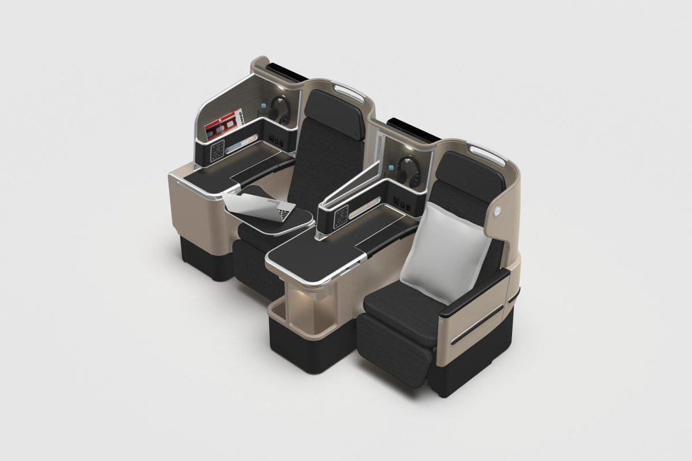 Qantas 787 Business Suite