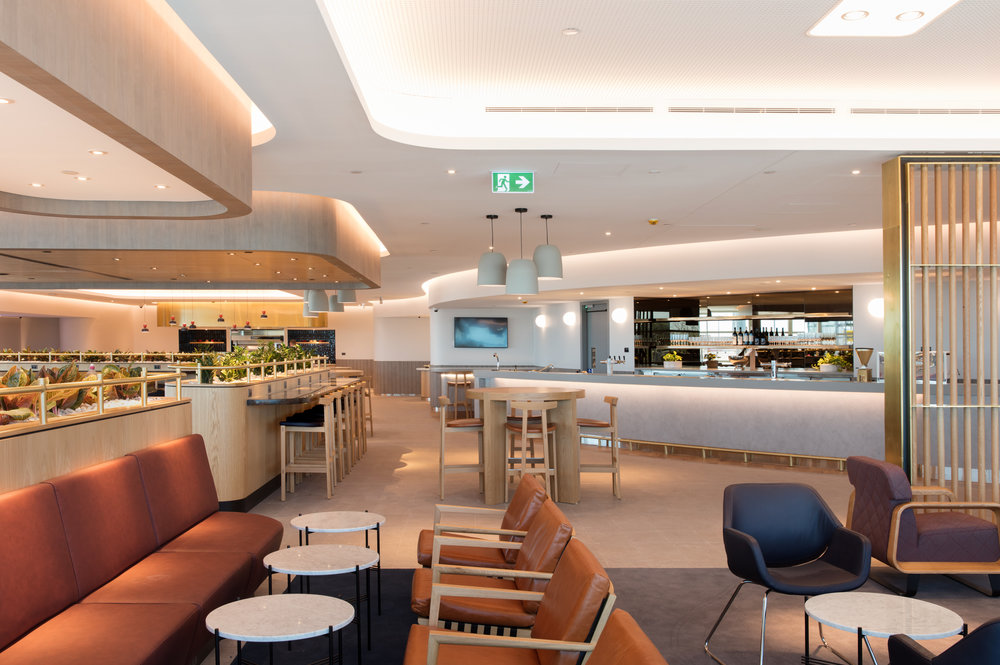 Qantas Brisbane Domestic Business Lounge