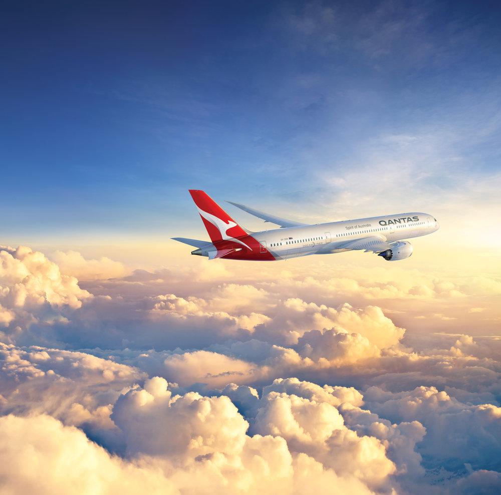 Qantas 787 Dreamliner (Source: Qantas)