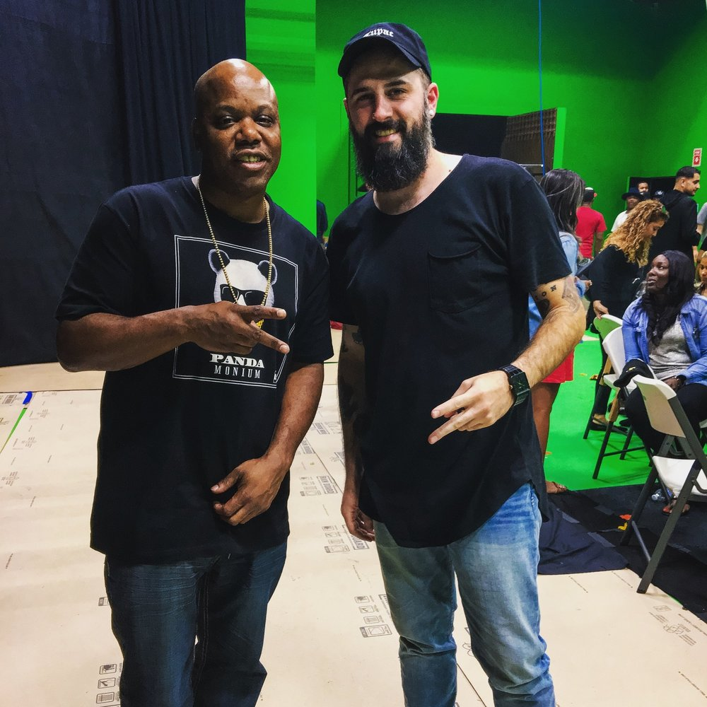BTS of GGN Thanksgiving Special with Too Short