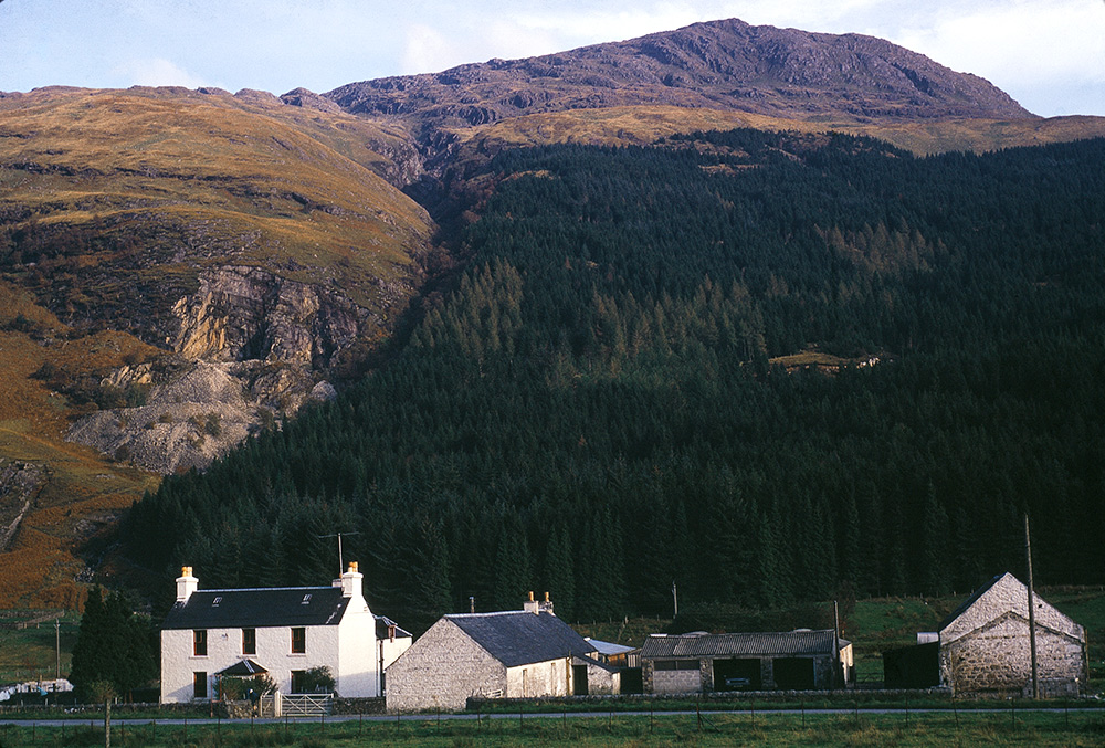 Lagnaha Farm. Gavin's Family Farm in Scotland.